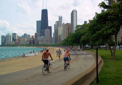 Usa chicago lakefront trail 1