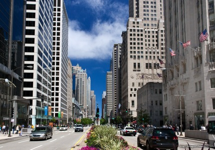 Usa chicago magnificent mile 1
