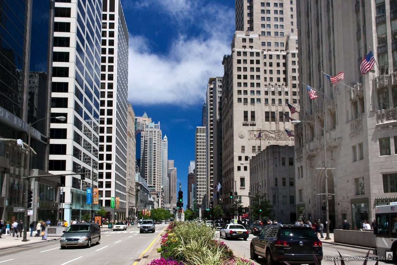 Chicago's Magnificent Mile is one of the city's top shopping destinations and is found on downtown Michigan Avenue between the Michigan Avenue Bridge and Oak Street. See our guide to shopping and dining along this shopper's paradise of designer labels and accessories.