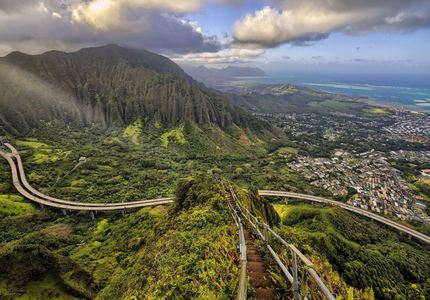 Usa haiku stairs 1