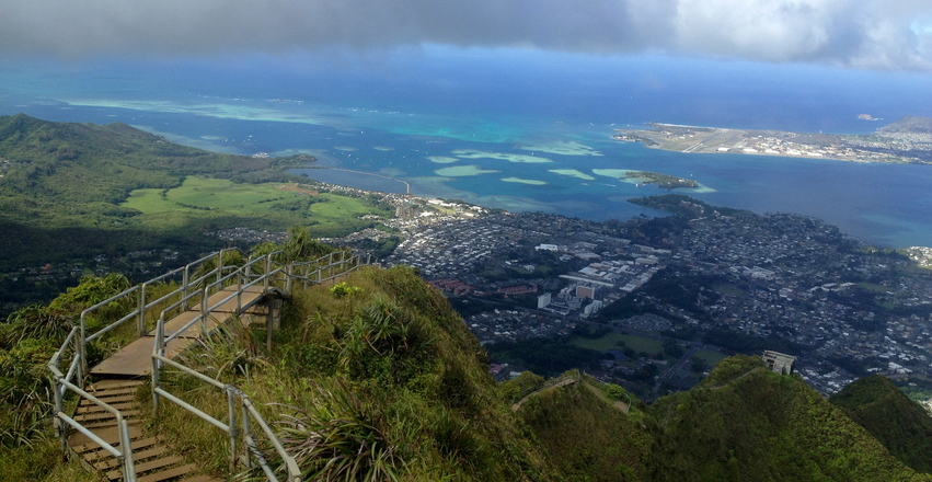 Usa haiku stairs 2