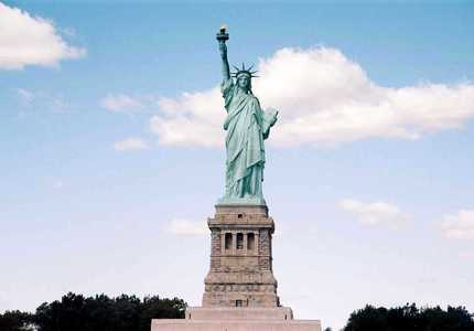 Usa new york statue liberte 1